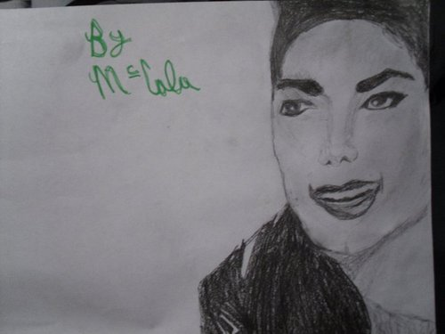 An MJ drawing I drew for MJgirl <3 :)