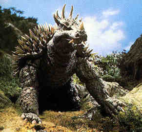 Anguirus Front View