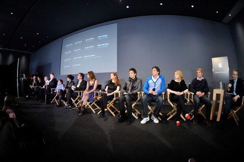 Apr03: Apple Store Soho Q&A - david-thewlis Photo