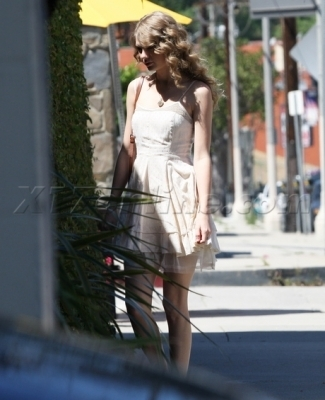 April 5 - Having lunch in Los Angeles, California