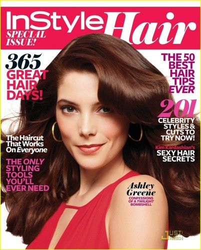 Ashley Greene In Style magazine