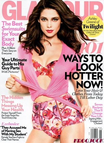 "Ashley Greene in ""Glamour"" US Magazine - May 2011"