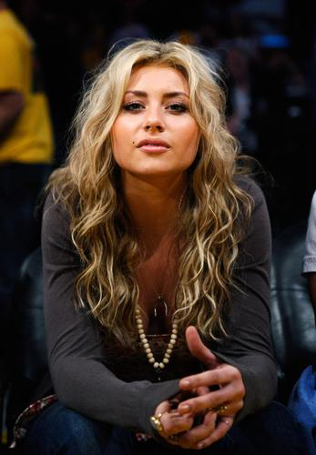 At Staples Center for Lakers Game - 04.03.11