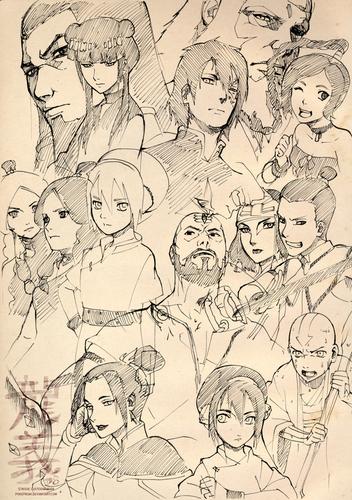 Avatar-Sketch
