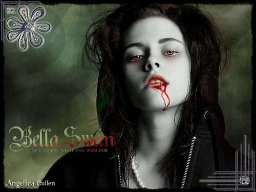 Bella 백조 as a Vampire
