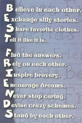 Best friends Forever!!