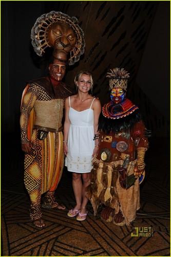 Britney Spears: 'Lion King' in Las Vegas!