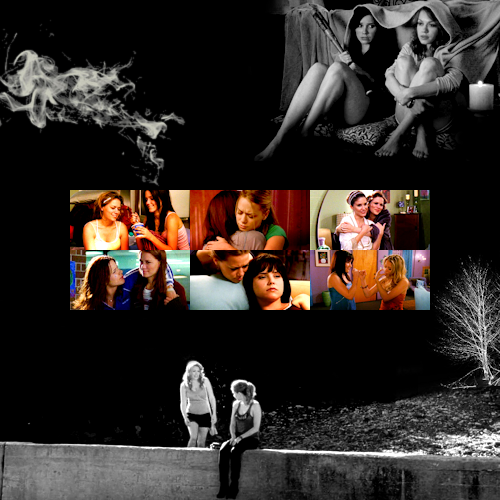 Brooke and Haley wallpaper probably with anime called Brooke&Haley
