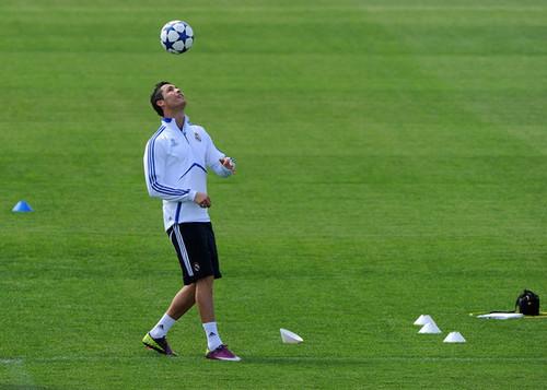 C. Ronaldo (Real Madrid training session)