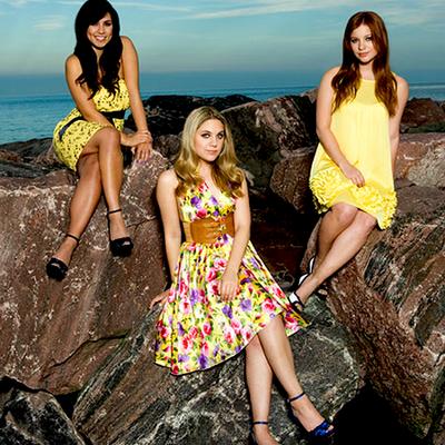 Cassie,Lauren and Stacey