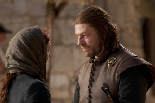 Cat & Ned - game-of-thrones Photo