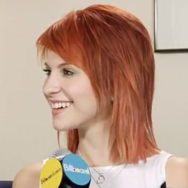 paramore hayley williams haircut. paramore hayley williams red