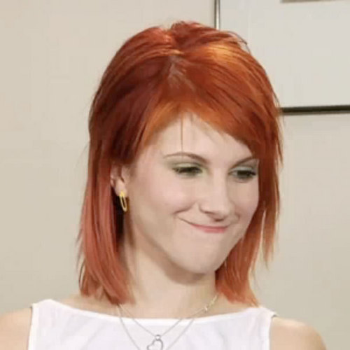 cinnamon hair hayley williams cinnamon red hair hayley