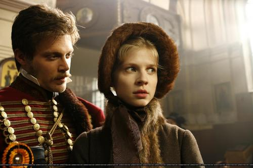 Clemence as Natasha Rostova - War and Peace