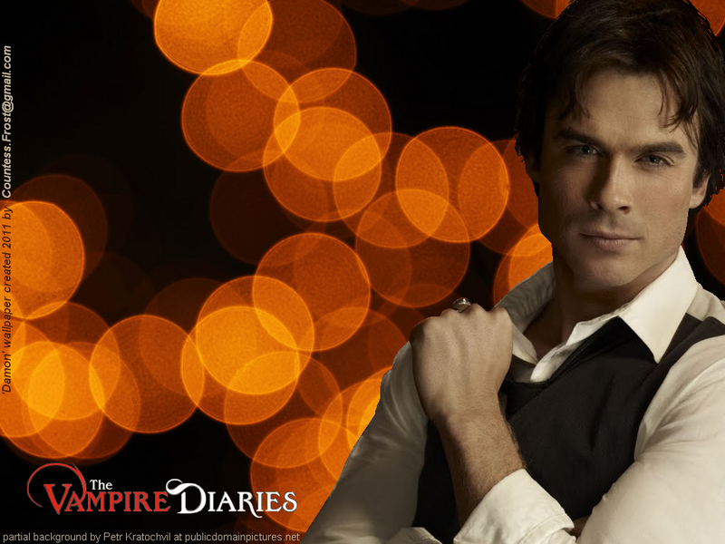 vampire diaries damon shirtless. Damon - The Vampire Diaries TV