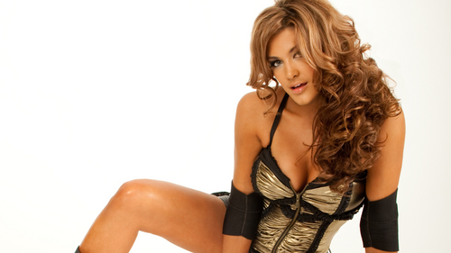 WWE Divas wallpaper containing a bustier called Eve Torres