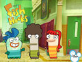 Fish Hooks Wallpaper
