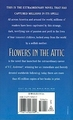 Flowers in the Attic reissue back cover