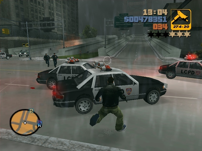 Grand Theft Auto Images Gta Claude Shotting At Cops Hd Wallpaper And Background Photos