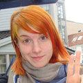 Glazed Orange Hair