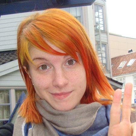 glazed orange hair hayley williams hair photo 20709676
