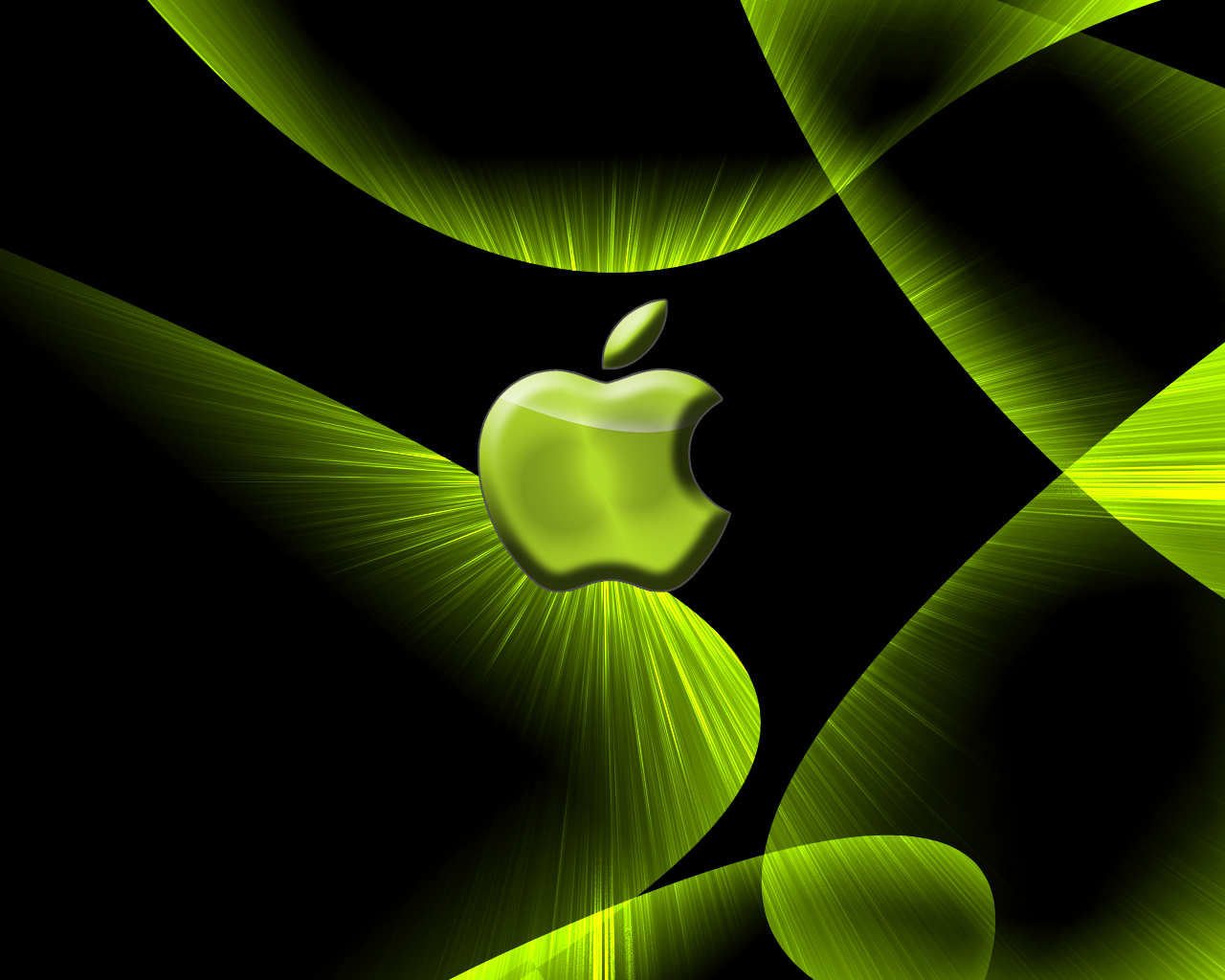 Green Wallpaper Apple