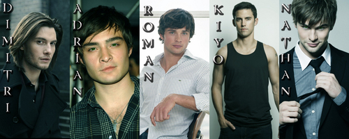 Guys of Richelle Mead's buku