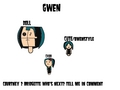 Gwen styleÞs  - total-drama-island fan art