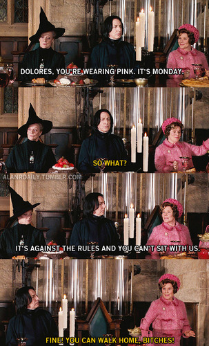 HP/Mean Girls