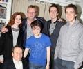 HP cast visit Dan's Show