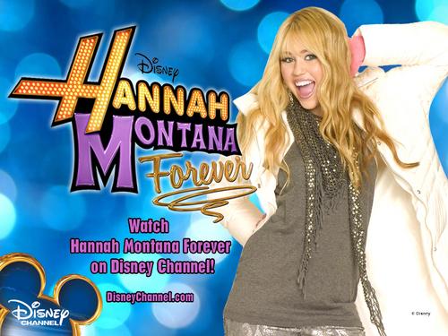 Hannah Montana Forever fonds d'écran par dj!!!