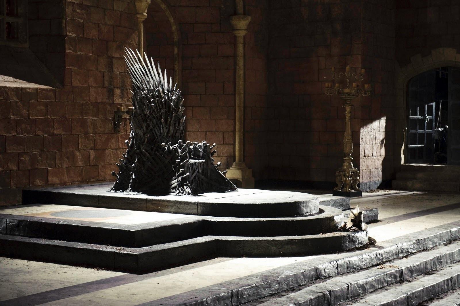 Iron ngôi vua, ngai vàng