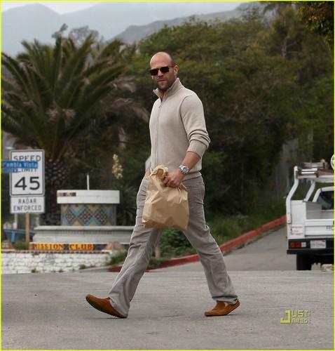 Jason Statham Brown Bags It