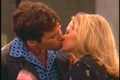 Jen & Billy kissing