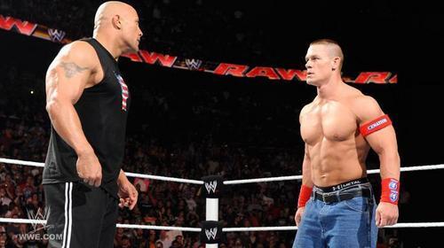 John Cena 4 april 2011 and red t-shirt