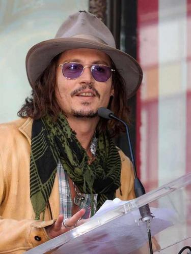 Johnny Depp and Penelope Cruz Hollywood walk of fame