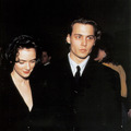 Johnny Depp and Winona Ryder at ShoWest 1990