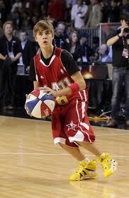Justin Bieber NBA all-star 2011