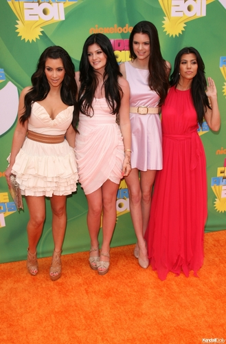 Kendall Kylie Kim and Kourtney