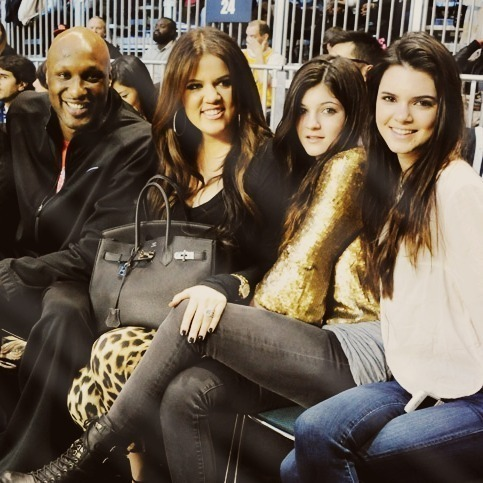 Kendall Kylie Lamar and Khloe