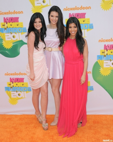 Kendall Kylie and Kourtney