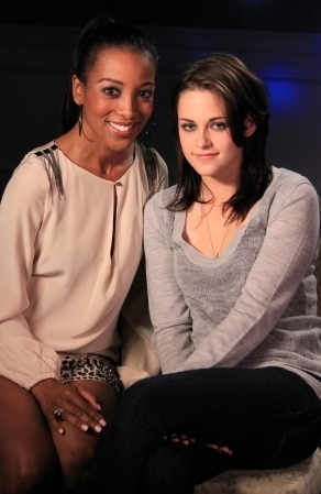 Kristen Stewart at Access Hollywood Interview in 2010