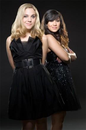 Lauren and Cassie