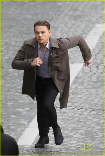 Leonardo DiCaprio Runs For His Life