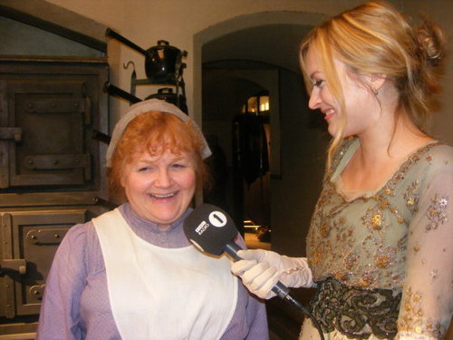 Downton Abbey wallpaper entitled Lesley Nicol (Mrs Patmore)