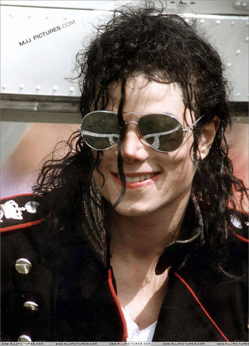 Dangerous era 바탕화면 probably containing sunglasses called MJJ :)