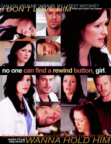 Grey's Anatomy wallpaper with a portrait called Mark and Lexie <3