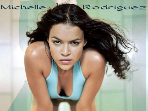 Michelle Rodriguez fond d'écran containing a portrait called Michelle Rodriguez