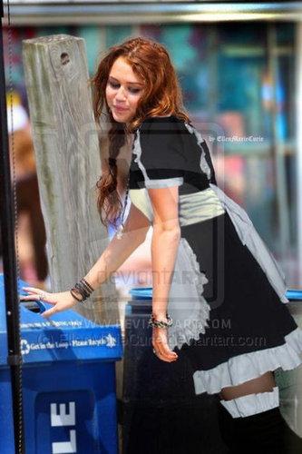 Miley Cyrus maid