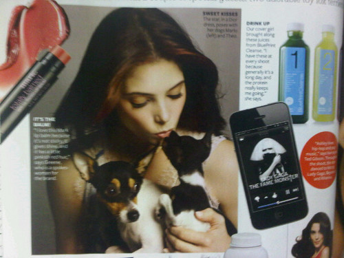 más scans of Ashley in InStyle!
